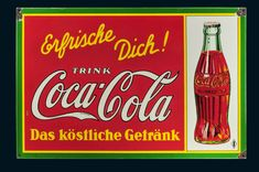 33. Reklameauktion- Emailschilder - Blechschilder -Beschreibungen Vintage Coca Cola, Kaffee Hag, Hot Sauce Bottles, Retro, Neon Signs, Google, Flashlight, Sheet Metal, Auction