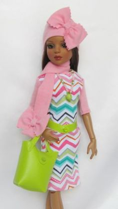 KNITTY-AND-WITTY-FOR-16-ELLOWYNE, BY-SSDESIGNS via eBay  SOLD 2/22/14  $48.99
