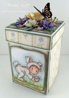 Easter Explosion Box (view 1 of 2) by Norma25 - Cards and Paper Crafts at Splitcoaststampers