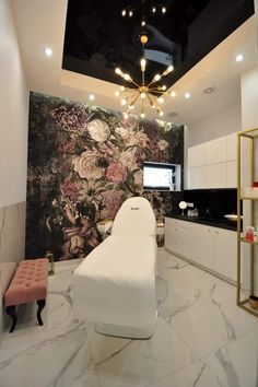 Salon Interior Design, Interior Designing, Brows, Lashes, Salon Ideas, Store Design, Salons, Peach, Decor Ideas