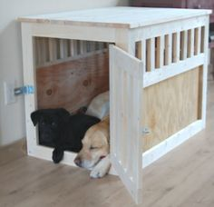 DIY: Dog Kennel by perdita