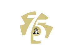 Unused 75th anniversary logo