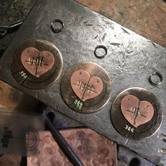 Working on dog tags at the moment <3