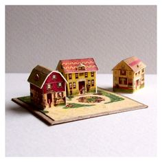 Open House Miniatures - 3 houses from McLoughlin's Pretty Village
