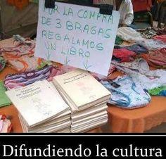 Difundiendo la cultura ...
