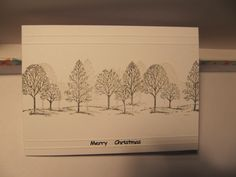 Sparkly Trees