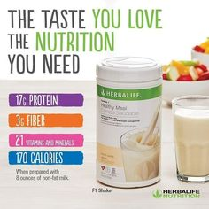 I'm a distributor/coach for Herbalife Nutrition. Learn more about how to live a healthier lifestyle. Let's make a plan to take action and schiever your goals faster together! Formula 1 Herbalife, Herbalife F1, Herbalife Quotes, Herbalife Motivation, Herbalife Recipes, Herbalife Nutrition, Herbalife Products, Nutrition Club, Nutrition Month