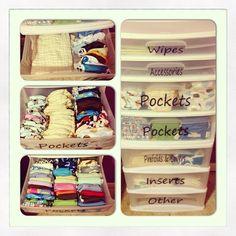 My Cloth Diaper organization. such a good idea. @Kelsey Myers Myers Eubank @Lacey McKay McKay Corson @K D Eustaquio Dembrowski