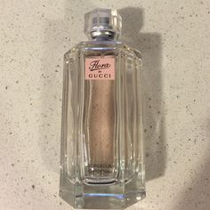 Flora by Gucci Excellent condition. Amazing perfume I just don't really wear scents. Approx 2/3 remain (see photo). Gucci Makeup