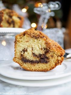 This moist and easy Chocolate Cinnamon Swirl Bundt Cake has a delicious swirled streusel filling and topping. Perfect for special occasion brunches or dessert. Baking Recipes, Cake Recipes, Dessert Recipes, Baking Ideas, Chocolate Heaven, Melting Chocolate, Chocolate Brown, Cinnamon Swirl Cake, Good Food