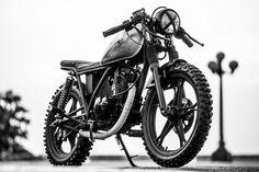 Suzuki GN125 #caferacer discover #motomood