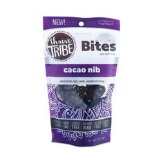 Thrive Tribe Cacao Nibs Bites are Paleo snack clusters that can be enjoyed as cereal, on top of yogurt, or straight out of the bag.