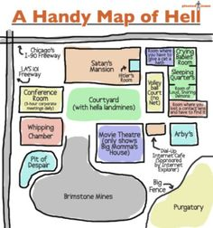 A Handy Map of Hell