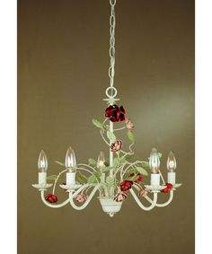 Annette Chandelier by Laura Ashley Home  #lighting. Click the image to learn more!
