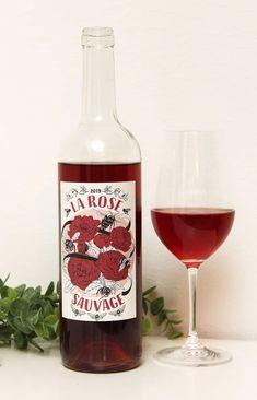 Joulukuun 2020 viiniuutuus – Charivari La Rose Sauvage 2019, Bordeaux, Ranska Halloumi, Bordeaux, Mango, Wine, Drinks, Bottle, Food, Manga, Drinking
