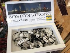 Boston Strong Bracelets - benefitting The One Fund