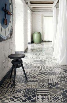 Carrelage tendance : faïence, ciment, céramique, porcelaine... - CôtéMaison.fr
