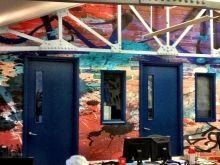 Grunge Graffiti Wallpaper Wall Mural | MuralsWallpaper.co.uk