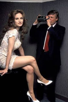 29 Pictures Of Donald Trump With Women That Are Hard To Look At Now Donald Trump Pictures, Miss Teen Usa, Victoria Silvstedt, Katie Couric, Trump Birthday, Hugh Hefner, Playmates Of The Month, Poses For Photos, Ivanka Trump