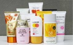 Korean best recommended #SunCream gathered chosen by the customer experience team!