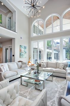 Fabulous!!   Bridgewood transitional living room  From Frankel Building Group