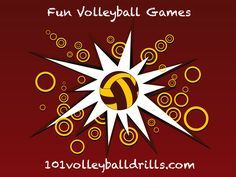 Fun volleyball games that will work on the fundamentals of volleyball.  Great for warm-ups, the end of practice, or for young volleyball players. #volleyball #funvolleyballgames                                                                                                                                                                                 More