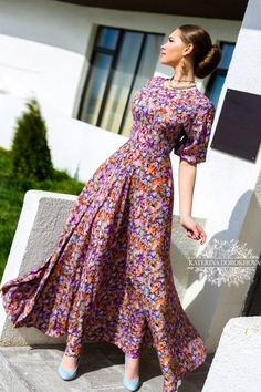 Maxi dress by katerina dorokhova