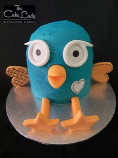 Hoot Smash Cake by The Cake Lady - Designer Cakes, Perth, Western Australia. You'll find this Cake Appreciation Society Member in our Directory at www.cakeappreciationsociety.com