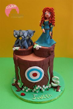 Disney Themed Cakes - Brave Cake