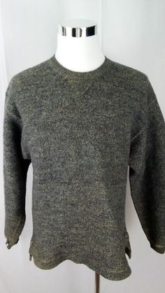 Men's WILLIS & GEIGER Alpaca & Wool Blend Sweater Medium  #willisgeiger #Crewneck