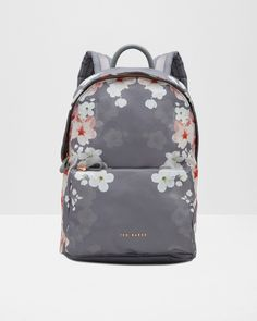 7dac26480b6c06 Oriental Blossom backpack - Light Grey