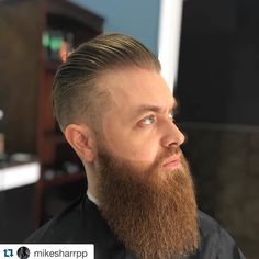 #Repost @mikesharrpp with @repostapp.  {Classic} {Bearded}{Men's Grooming} {#Gibsguy}  Log onto Mausalon.resurva.com to schedule your next reservation. #mikesharrpp #gibsgrooming #teamausalon #teamgibs #PhillyBarber #hair #haircut #menshaircare #mensgrooming #fadetasticflava #fadetasticflow #fadetastic #fadetasticfresh #educator #newclientswelcome #barbershopconnect  #barbersinctv by eclipsefibers