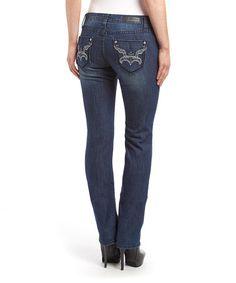 This Denim Medium Indigo Skinny Jeans is perfect! #zulilyfinds