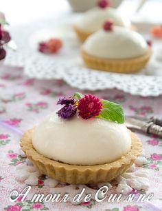 tartelettes chocolat panna cotta a la fleur d'oranger - Amour de cuisine
