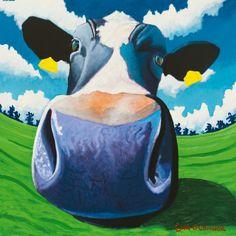 Cow IV, Big Nose Lámina