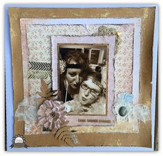 Couture Creations: Enjoy Yourself Everyday by Tracey Rohweder #couturecreationsaus #scrapbooking #decorativedies #vintagerosegarden