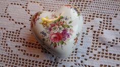 Hammersley China heart trinket