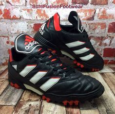 Adidas Originals Football Predator Trainers UK Size 9 Vtg