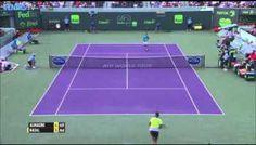 Watch Rafael Nadal's Hot Shot Against Nicolas Almagro - Miami Open 2015