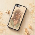Warm Springs Chief: Agate Arrowpoint Carved® Maple iPhone 6 Bumper Case