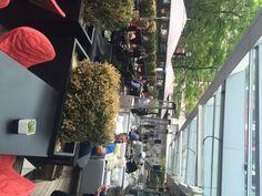 DEQ Patio Opens at Ritz Carlton Hotel in Toronto Toronto Bars, Carlton Hotel, Cuban, Patio, Yard, Terrace