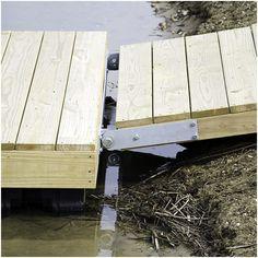 Create a DIY Floating Dock - Dock Supplies - Ladders, Bumpers, Cleats & Floating Dock Kits, Floating Boat Docks, Building A Dock, Lake Landscaping, Farm Pond, Lake Dock, Kayak Storage, Lakefront Property, Bois Diy