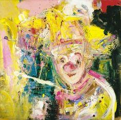 Marianne aulie - Google-søk Clown Images, Photo Art, Henna, Fine Art, Texture, Abstract, Artist, Artwork, Painting