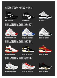 2277be7083b 8 Best Allen Iverson Sneakers images