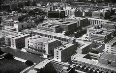 La città universitaria La Sapienza nel 1938.