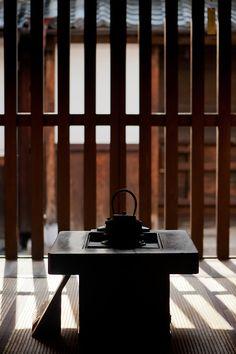 japaneseaesthetics: Living room of a historic Nara townhouse. Japan. Photography by C K Tse