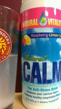 Dissolving #stress? I'll drink to that! Thanks @Melissa Vitality