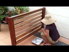 How To Make a Wooden Fence For Your Pets - YouTube