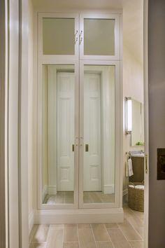 Full height custom closet