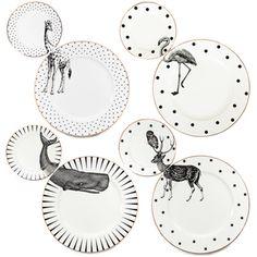 Image of Animal Plate set